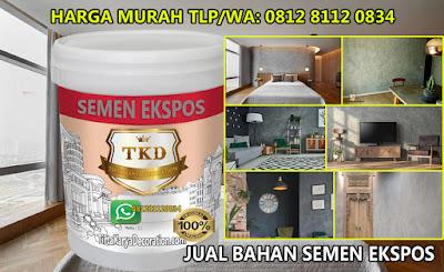 JUAL BAHAN CAT MOTIF SEMEN EKSPOS, TANGERANG, JAKARTA