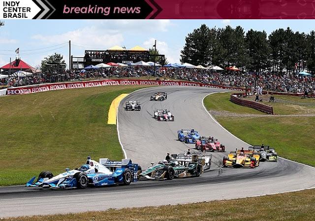 Indycar start Mid Ohio