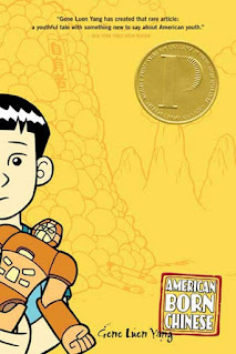"""Book cover of """"American Born Chinese"""""""