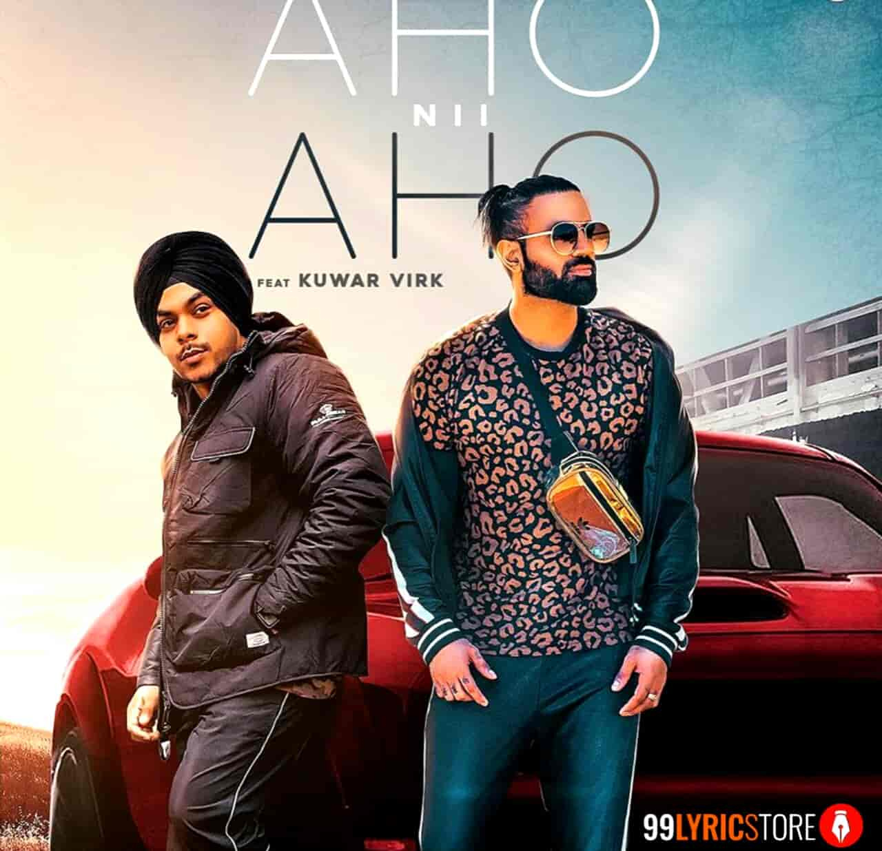 Aho Nii Aho Song Images By Gagan Kokri and Kuwar Virk