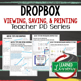 Dropbox for TpT Buyers and Sellers Tips, Instructions Teacher PD Series ➤Dropbox Instructions, How to Print from Dropbox, How to Save from Dropbox, How to View from Dropbox, How to Use Dropbox Link, How to Save to My Dropbox, How to Use Clipart in Dropbox, How to Save Images from Dropbox, Teacher Planning, Professional Development➤