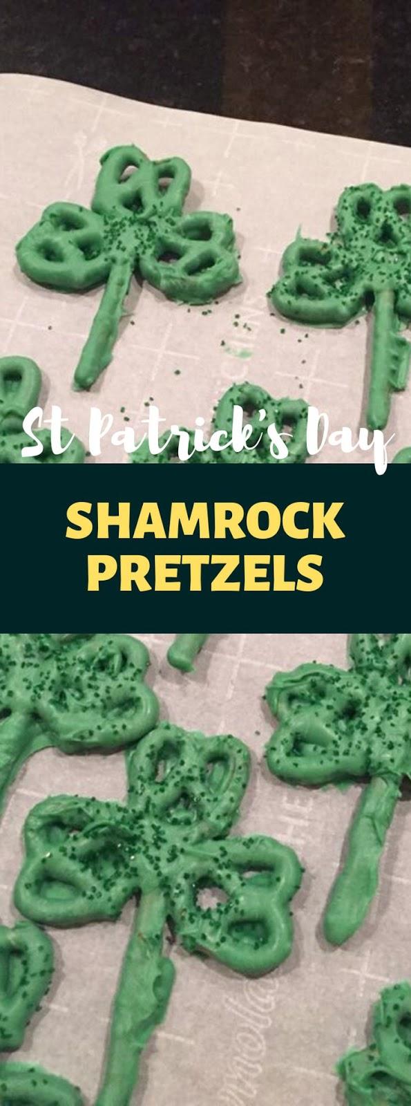 Shamrock Pretzels