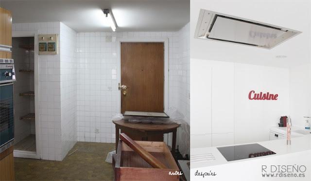 Antes y después de una vivienda en Madrid