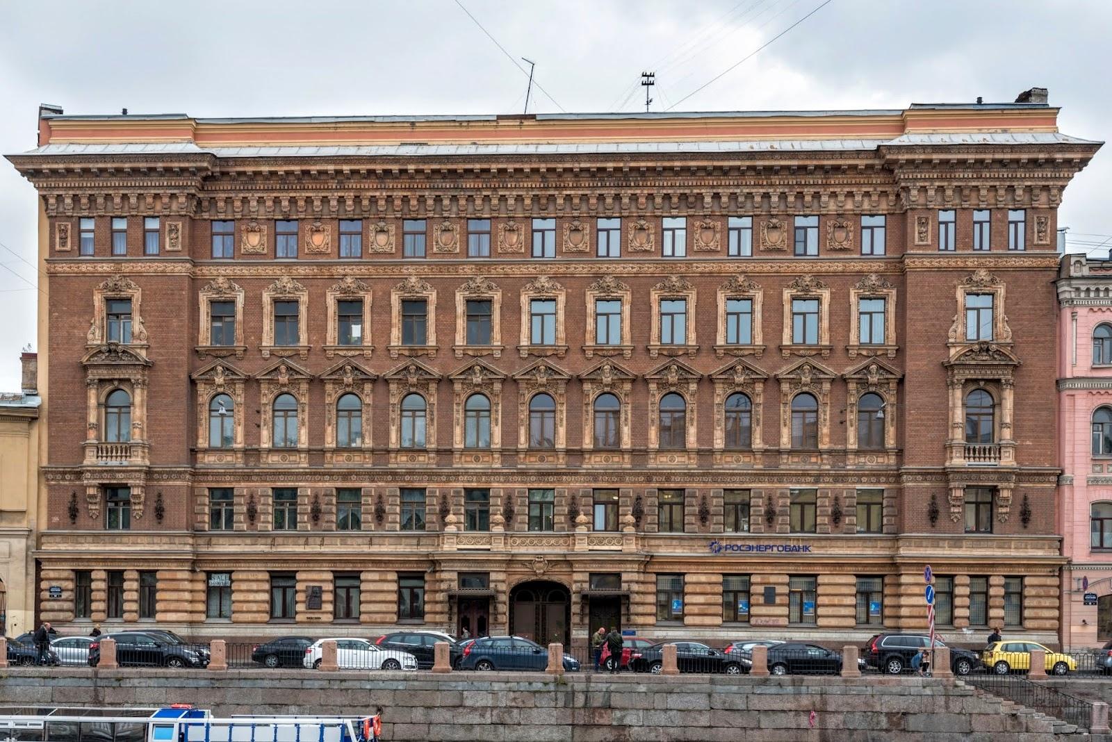 Питерские фасады