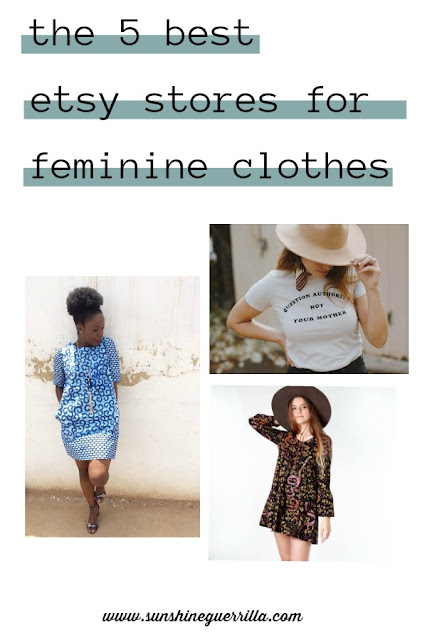 the 5 best etsy stores for women's clothing