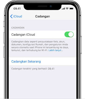 Cara backup iphone via iTunes