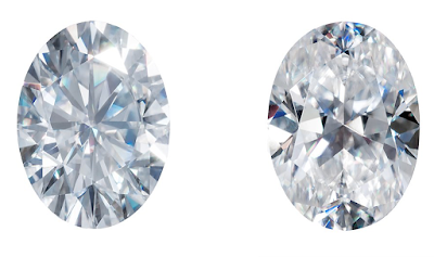 brilliant-oval moissanite-VS-crushed-ice-oval-moissanite-stones