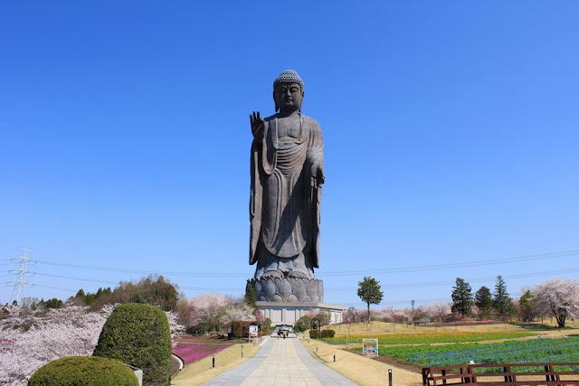 Buda de Ushiku Daibutsu tercera estatua mas alta del mundo
