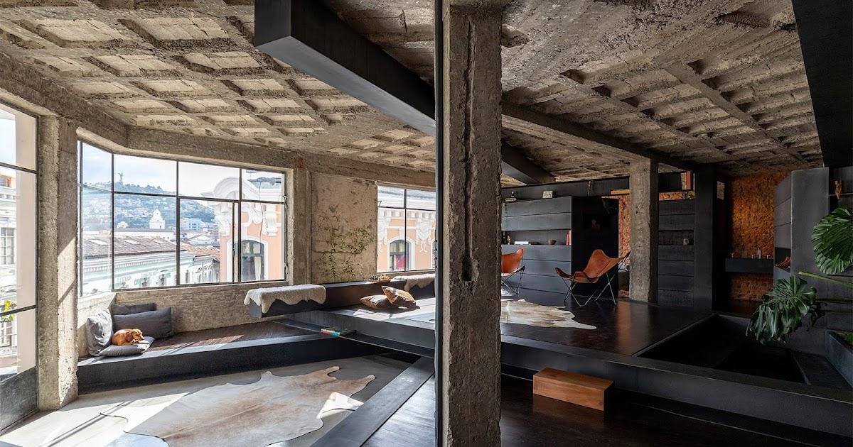 Uma reforma que transforma um apartamento em uma floresta urbana