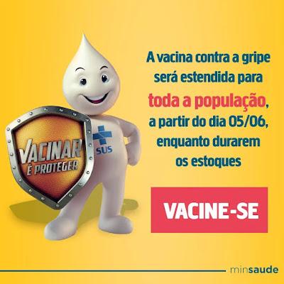 Sete Barras prorroga vacinação contra gripe