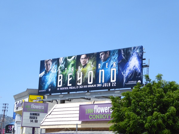 Star Trek Beyond film billboard
