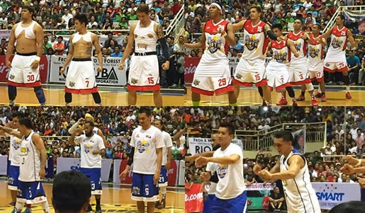 Top 6 Photos of North & South Team 2015 PBA All-Stars (Intro Dances)