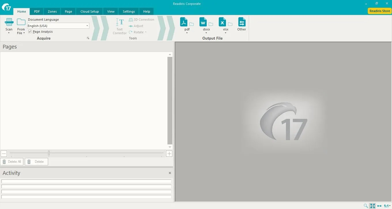 تحميل برنامج  Readiris Corporate 17.3 لتحويل ملفات PDF والصور والمستندات إلى ملفات قابلة للتحرير