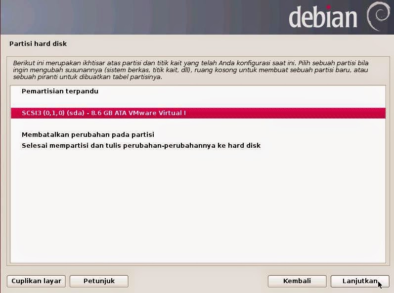 Tutorial Instalasi Debian 7 (Wheezy) ~ 1000 program