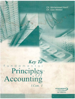 11TH CLASS PRINCIPLES ACCOUNTING (1ST YEAR,I.COM PART-1) Keybook PDF