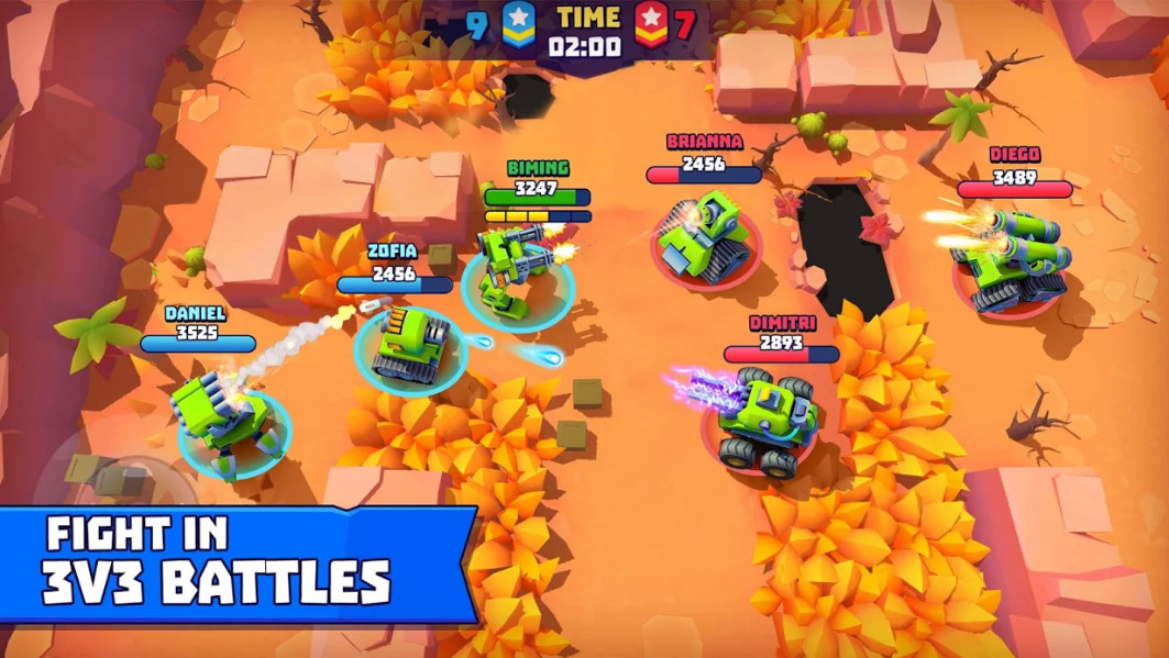 ملخص حول الدبابات الكثير! وزارة الدفاع Tanks A Lot! - Realtime Multiplayer Battle Arena