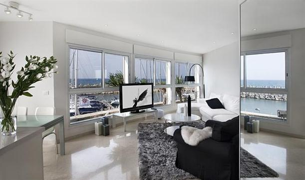 Hogares frescos apartamento con elegante dise o interior for Diseno de interiores y marketing