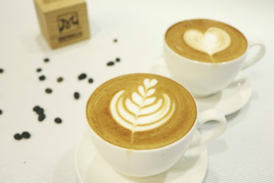 cốc cafe latte art
