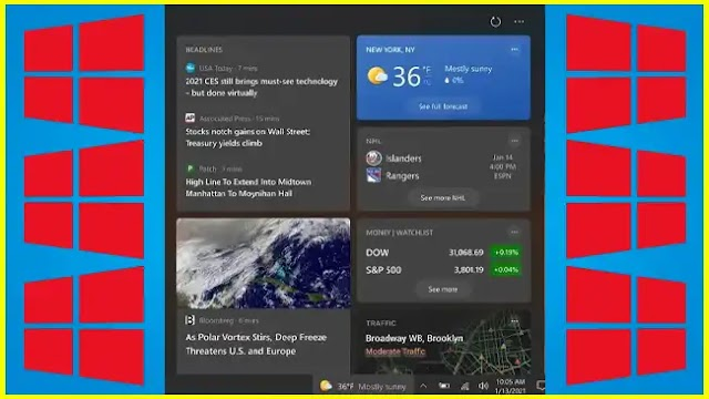 Windows 10: News and weather in the system tray soon for everyone