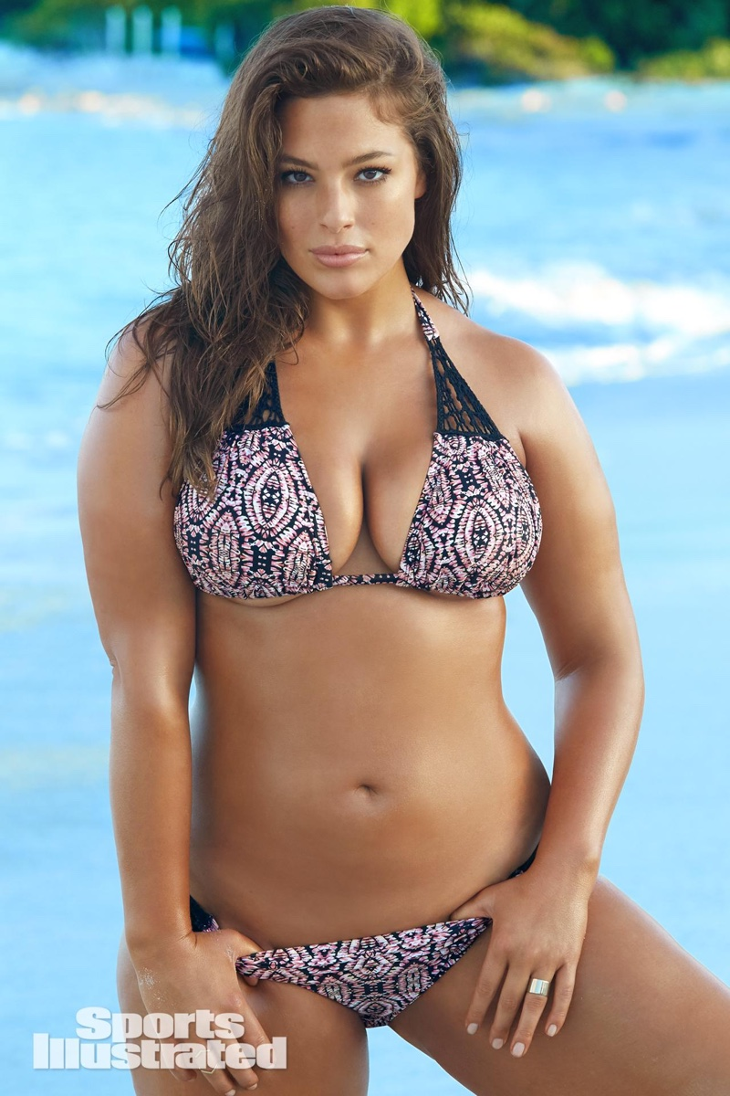 Ashley Graham for Sports Illustrated Swimsuit 2016 Issue