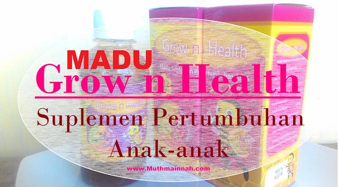 Grow n Health Madu Suplemen Pertumbuhan Anak-anak