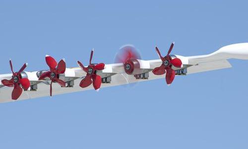 info.tinuku.com NASA X-57 Maxwell Era Baru Pesawat Terbang Elektrik Tahun 2018