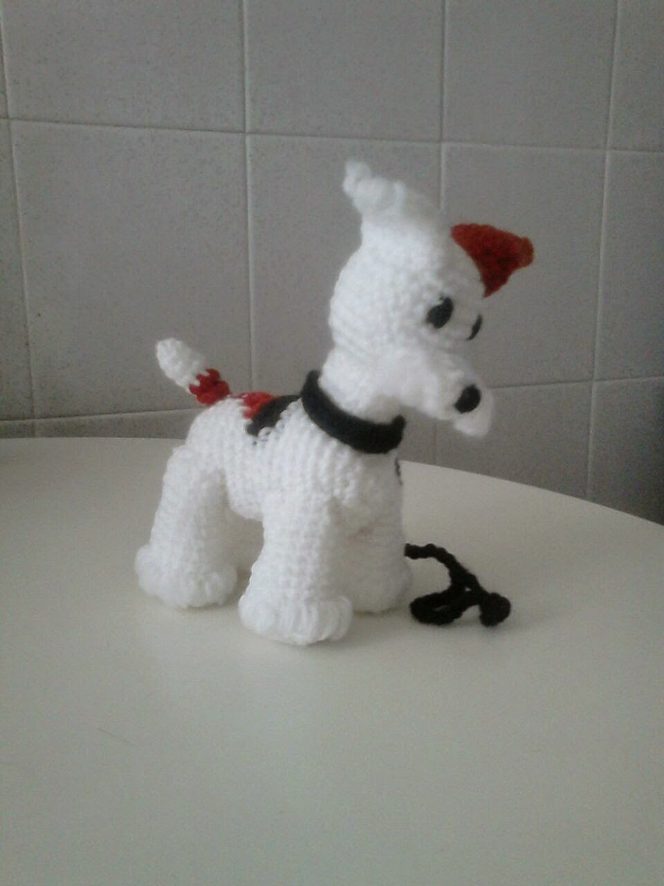 amigurumi fox terrier