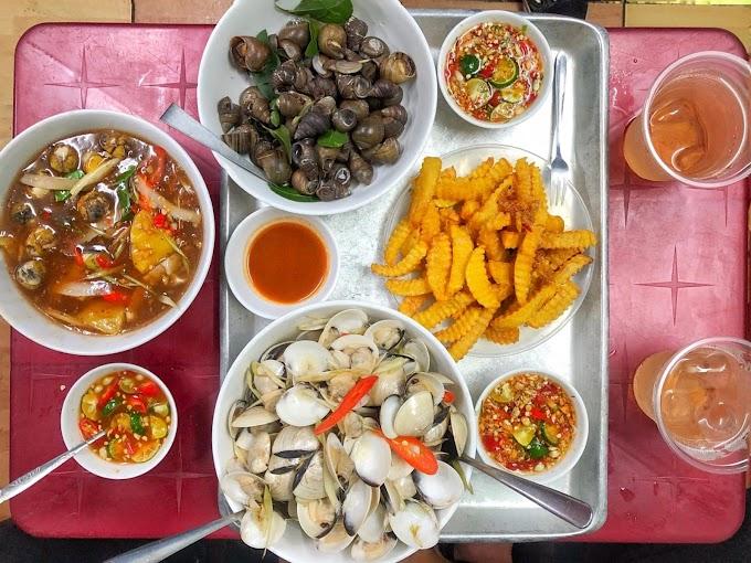 [ Góc trải nghiệm ] Nga ốc - chợ Nam Đồng