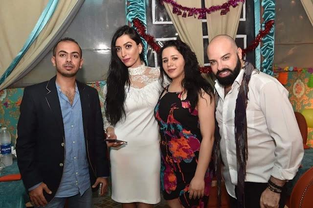 الإعلامية مايا طراف تحتفل بعيد ميلادها وسط أهل الفن