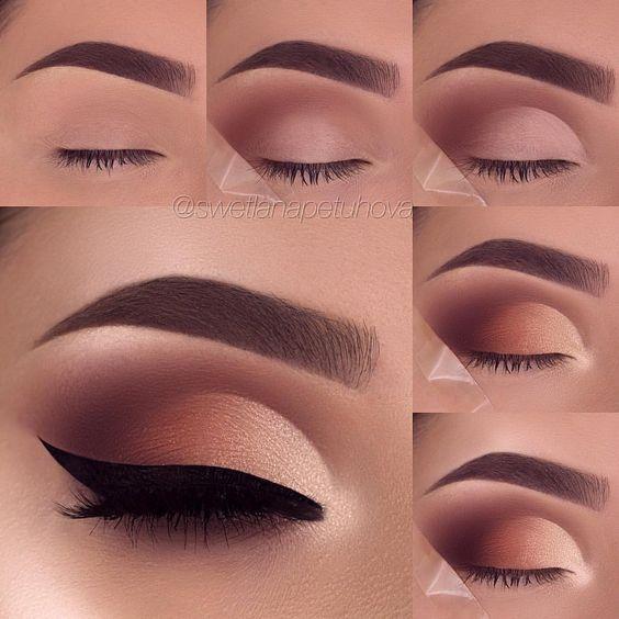easy eye makeup looks for beginners