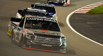 Christian Eckes Earns First Career Camping World Truck Series Win