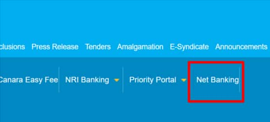 Apply For ATM Card in Canara Bank Online