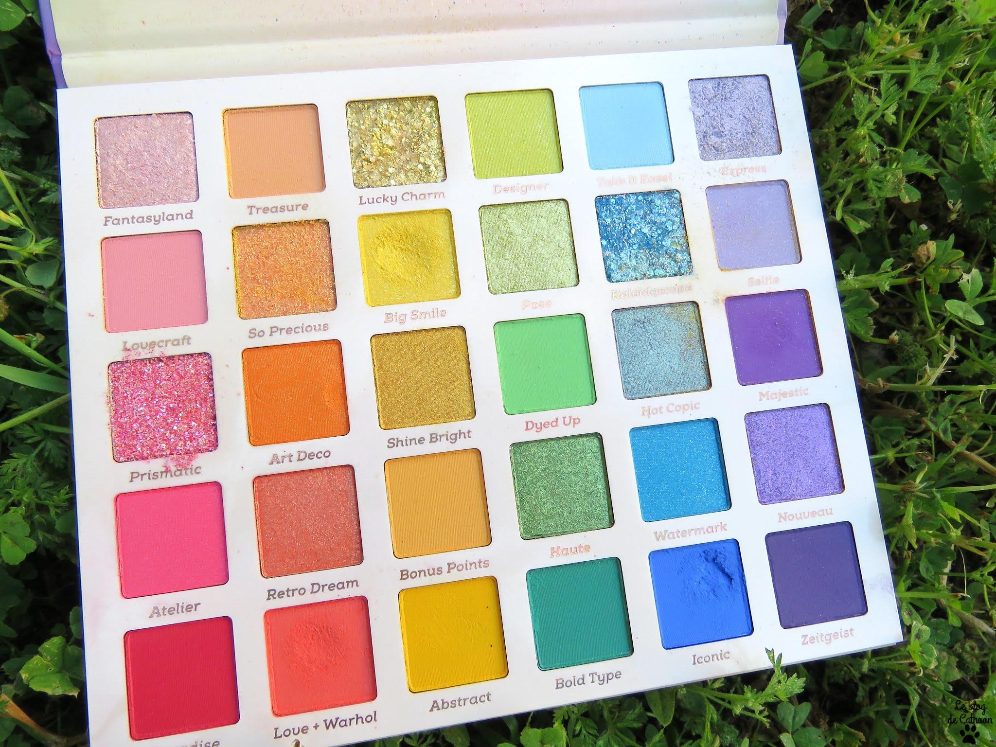 Fade Into Hue - Palette Fards à Paupières - Colour Pop