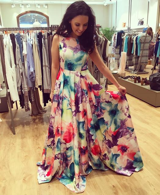 vestido princesa flores mallorca