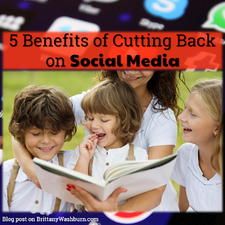 5 Benefits of Cutting Back on Social Media