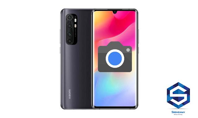 google camera for MI Note 10 Lite