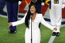 Demi Lovato belts out comeback Super Bowl 2020 anthem