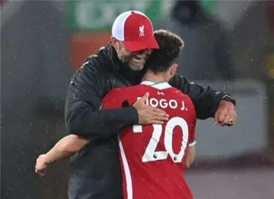 Jota opposes Klopp: We have a chance to qualify for the Champions League