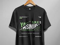 Design T-Shirt Streetwear Keren SMK Yasmida Ambarawa