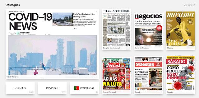 PressReader - Jornais e revistas para todos