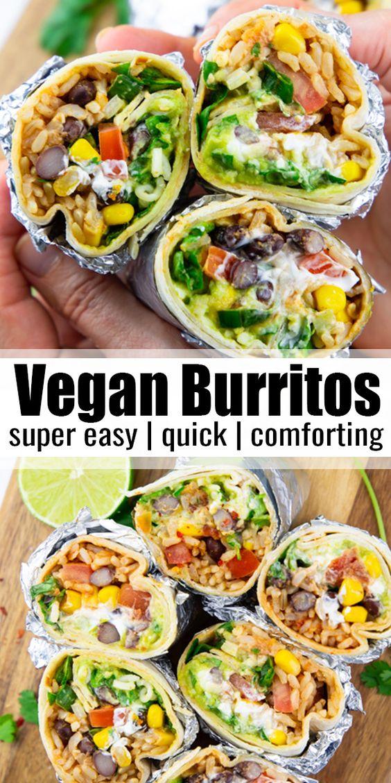 Vegan Burritos Recipe