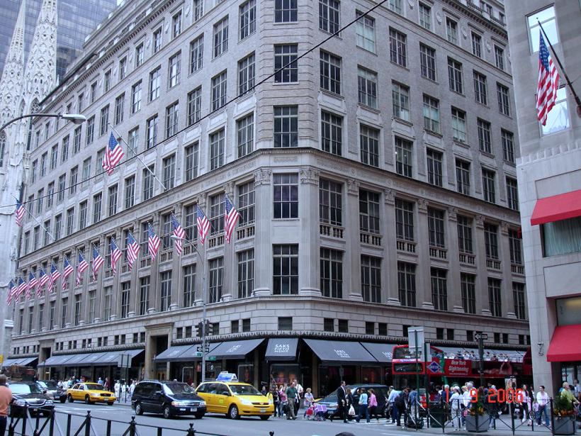 247d023cf05 Lojas de departamento em Nova York