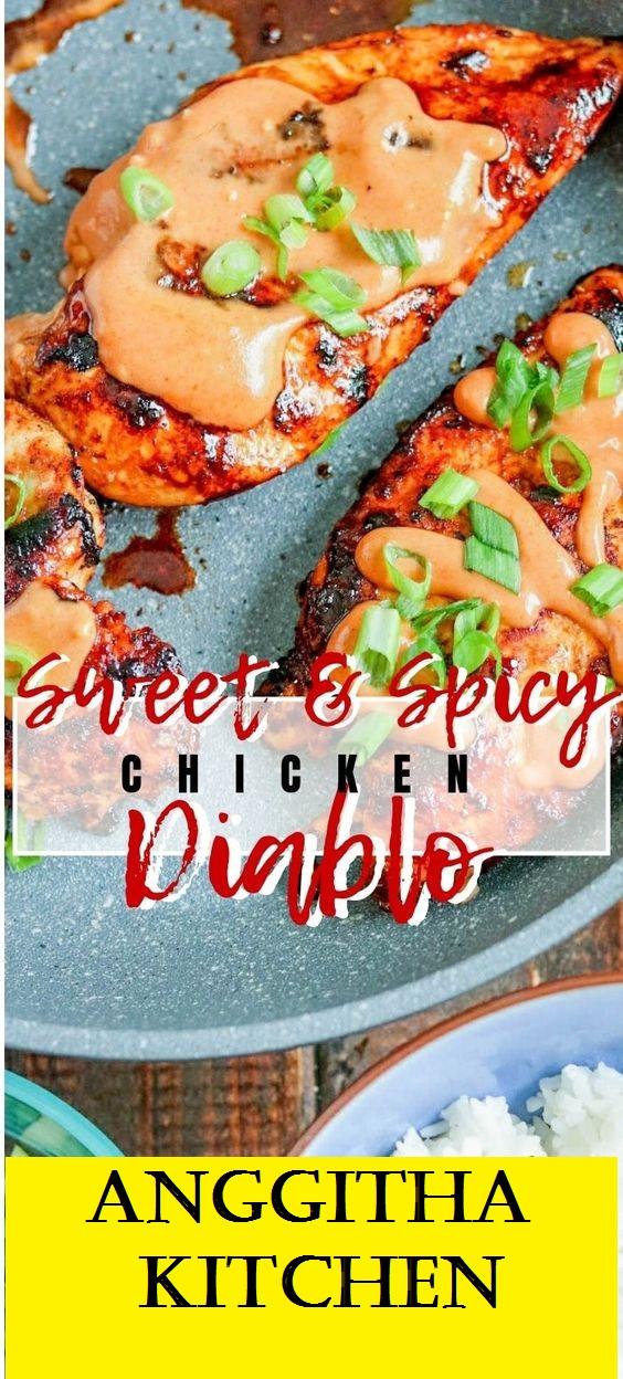 Spicy & Sweet Chicken Diablo