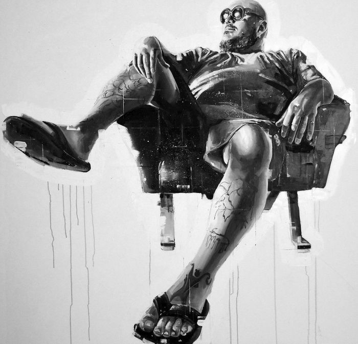 Итальянский художник. Emanuele Garletti
