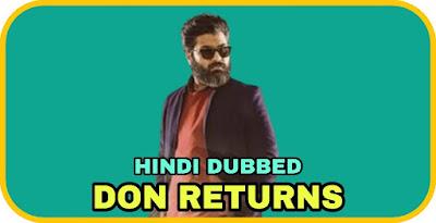 Don Returns Hindi Dubbed Movie