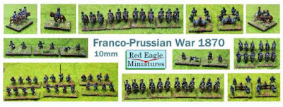 10mm Franco-Prussian War from Red Eagle Miniatures