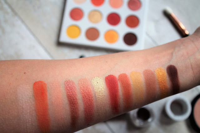 Colourpop Yes, Please! Palette Swatches