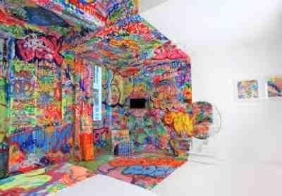 Half Graffiti Room Marseille France