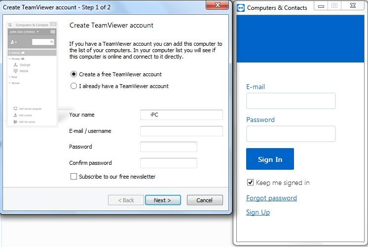 Cách sử dụng phần mềm TeamViewer 12 trên máy tính b