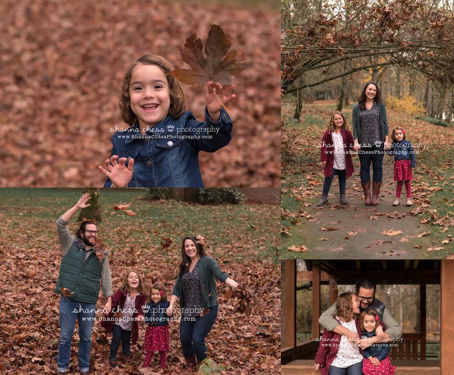 eugene oregon outdoor family photo session